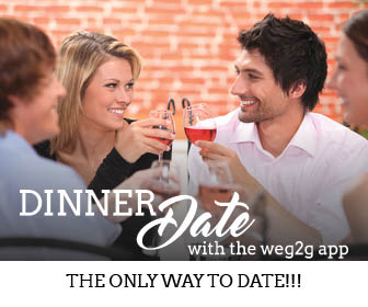 G2G Dinner dating with one-to-one match