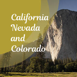Discover the best of california, Nevada and Colorado