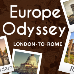 Visit London Eye, Tower of London, Nortredame Cathedral, Amsterdam, London, Brussels, Paris, and Rome
